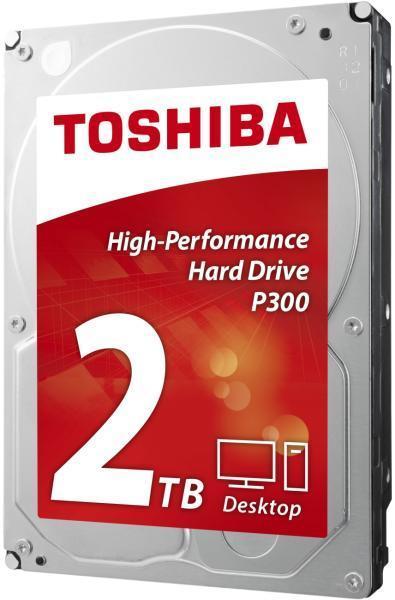 Хард диск TOSHIBA P300, 2TB, 7200rpm, 64MB, SATA 3