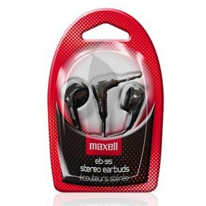 Слушалки  MAXELL color BUDS EB-95, In-Ear, Черен