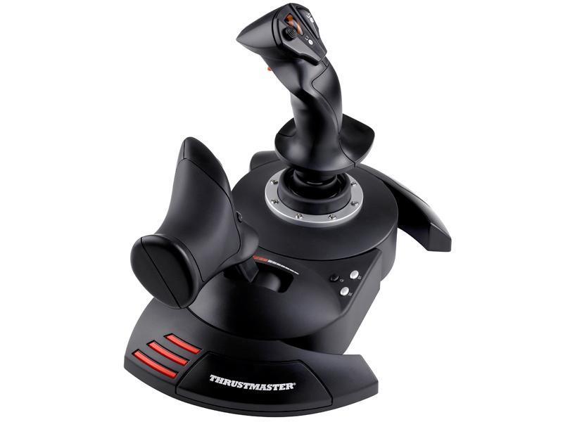 Жичен джойстик,  авиосимулатор Thrustmaster T.Flight Hotas X  за PC / PS3, Черен