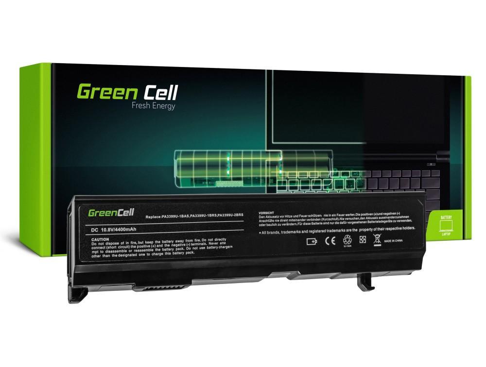 Батерия  за лаптоп Toshiba Satellite A80 A100 A105 M40 M50 Tecra A3 A6 PA3400 10.8V 4400 mAh GREEN CELL
