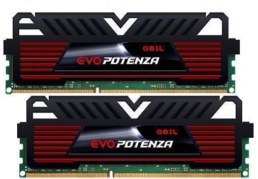 Памет GEIL 8GB(4GBx2) PC3 12800 1600Mhz CL9-9-9-28 EVO POTENZA