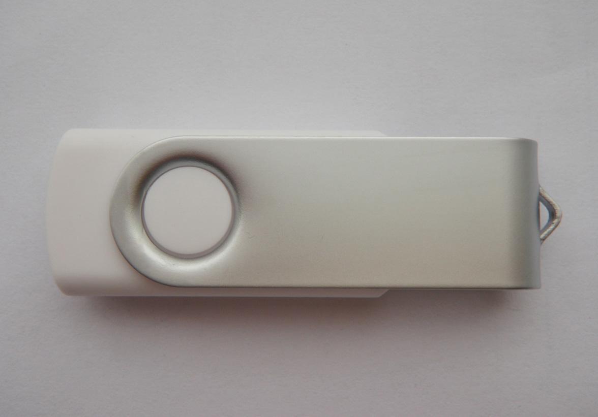 USB памет ESTILLO SD-01, 8GB, Бял