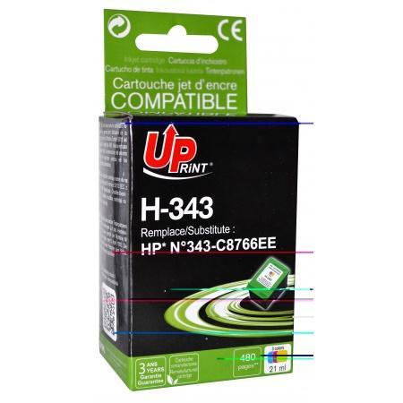 Мастилница UPRINT C8766 HP, Color