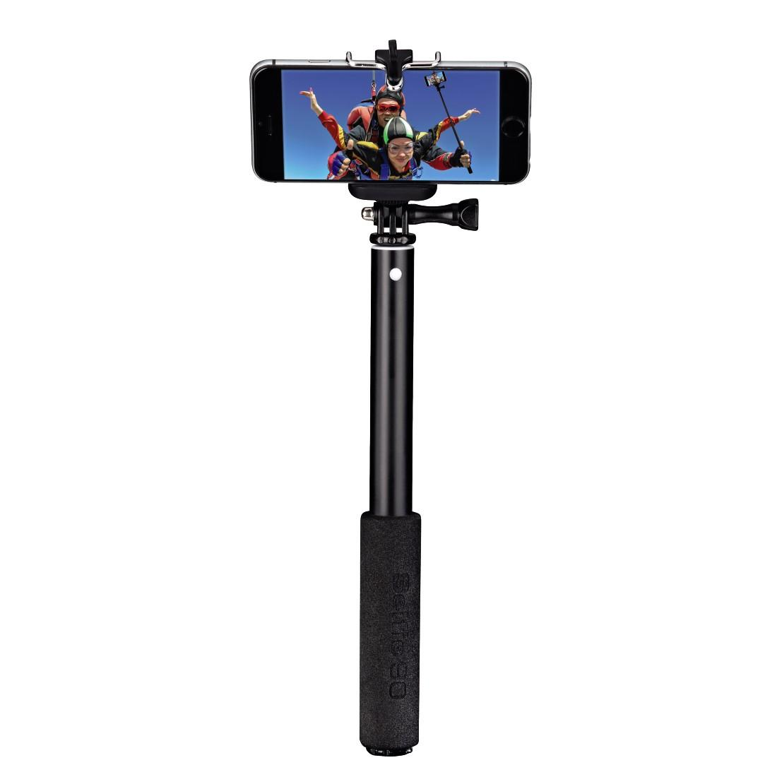Монопод - селфи HAMA Selfie 90 136189 за камера, комплект 3 в 1, Метал