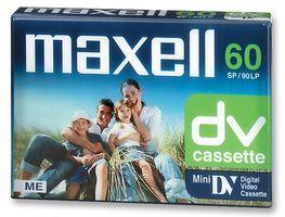 Касета за видеокамера MAXELL DVM 60, 60 мин