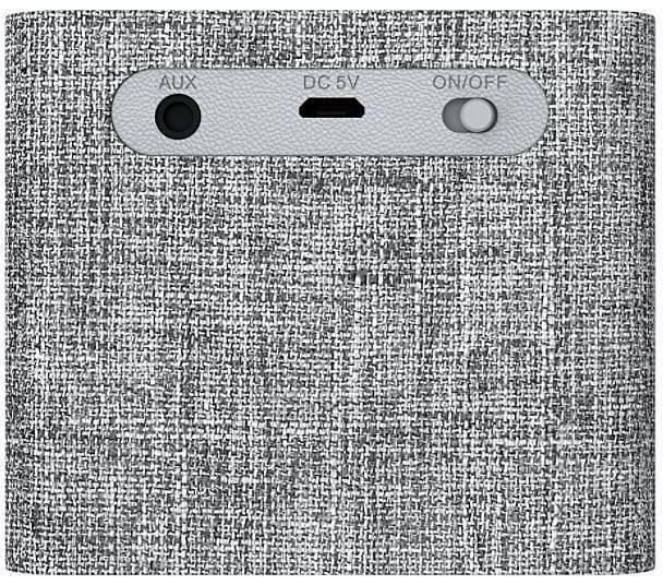 Портативна блутут колонка  Creative NUNO Micro, Bluetooth, Сив