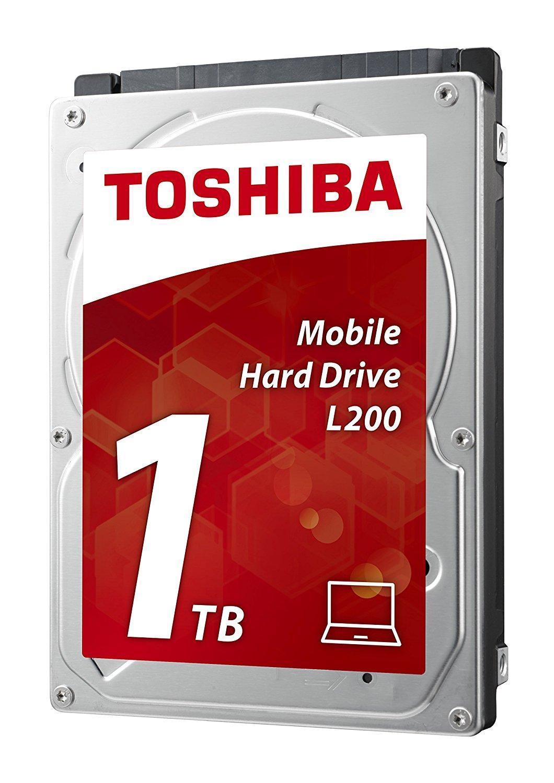 Хард диск за лаптоп TOSHIBA L200, 1TB, 5400rpm, 8 MB, SATA 3Gb/s, 9.5 mm, HDWJ110UZSVA