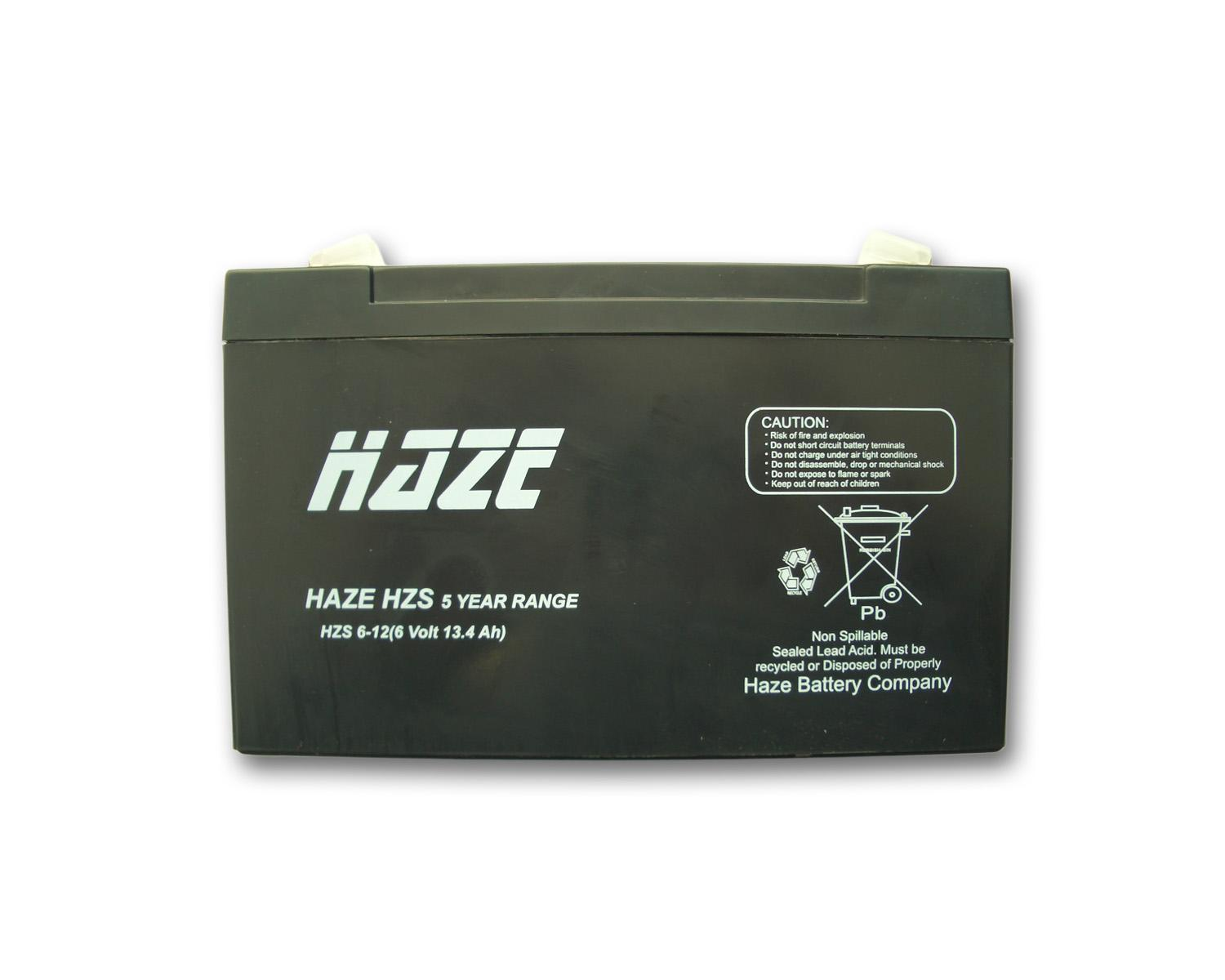 Оловна Батерия Haze (HZS6-12) 6V / 12 Ah - 151 / 50 / 95mm AGM
