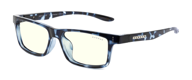 Детски компютърни очила GUNNAR Cruz Kids Large, Clear Natural, Син