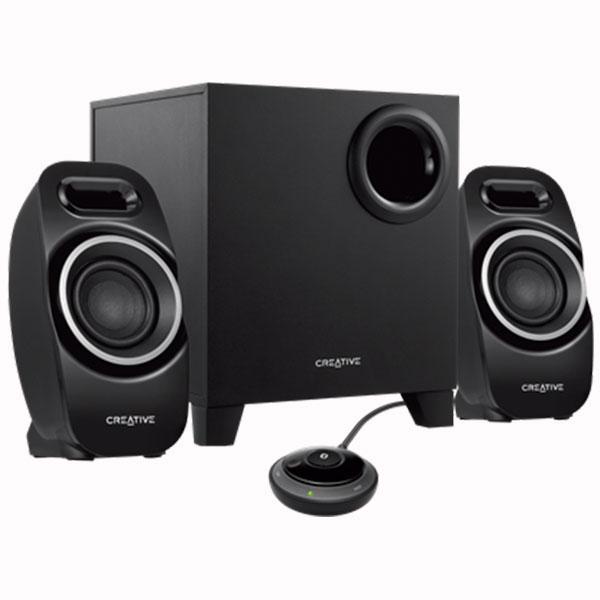 Озвучителна система Creative T3250W, 2.1, 9W, Bluetooth Wireless, Черен