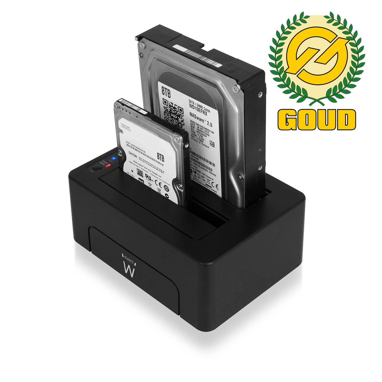 """Външна докинг станция за HDD Ewent USB 3.1 Gen1 за 3.5""""/2.5"""" HDD/SSD"""