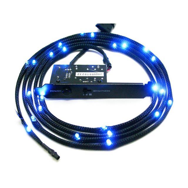 Led лента NZXT Sleeved LED Kit 1m Blue CB-LED10-BU