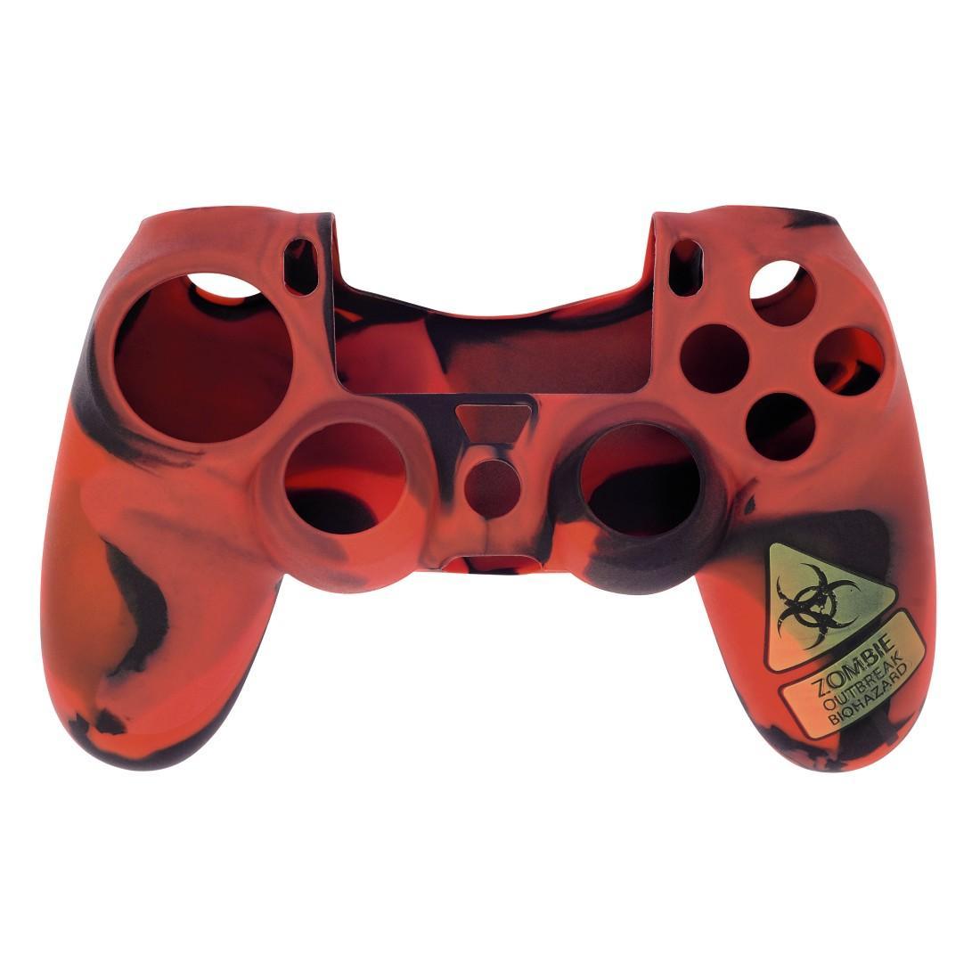"""Комплект аксесоари """"Undead"""" 7 в 1 за Dualshock 4 на PS4/SLIM/PRO, HAMA 115466, Червен"""
