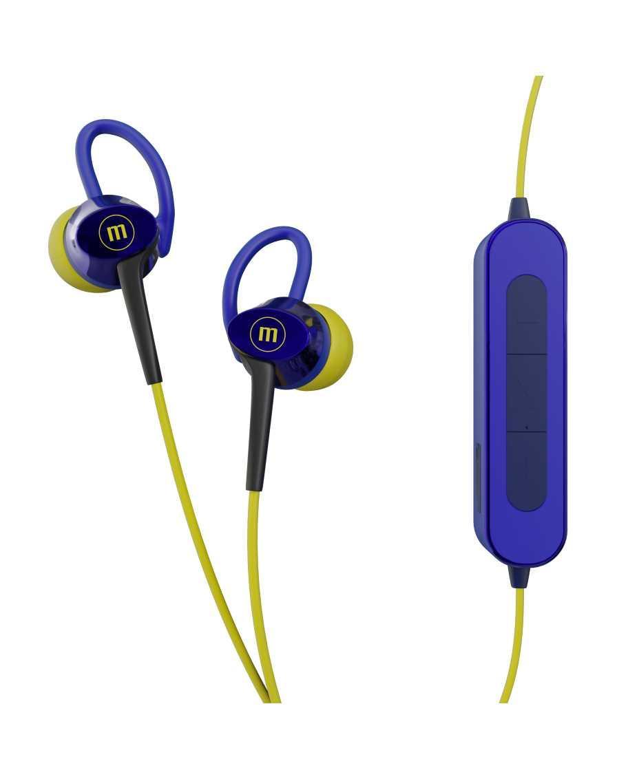 Блутут слушалки Maxell BT Fusion, aqua