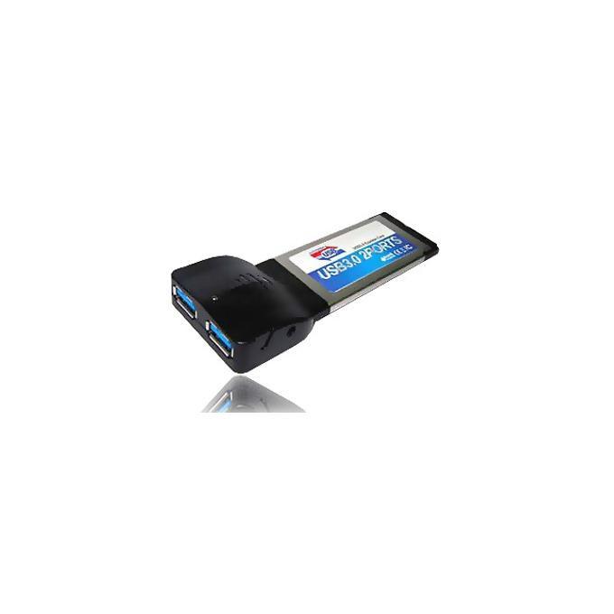 Адаптер ESTILLO ExpressCard към 2 x USB 3.0, Нотбук