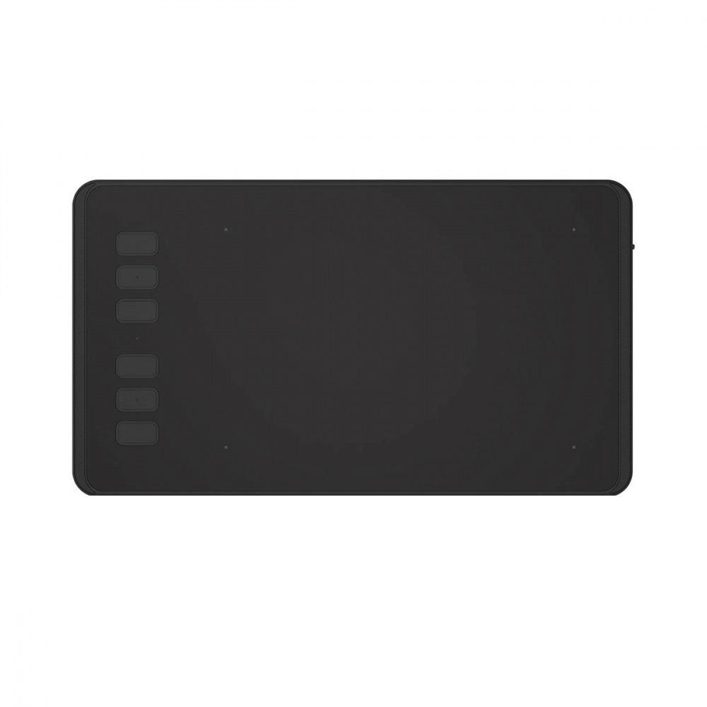 Графичен таблет HUION Inspiroy H640P,  USB, Черен