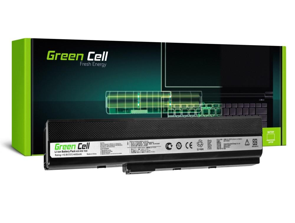 Батерия  за лаптоп Asus K52 K52J K52F K52JC K52JR 10.8V 4400mAh GREEN CELL