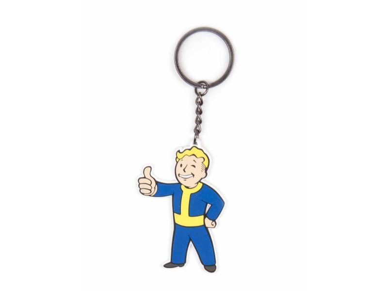 Ключодържател Fallout Vault Boy Approves, Bioworld