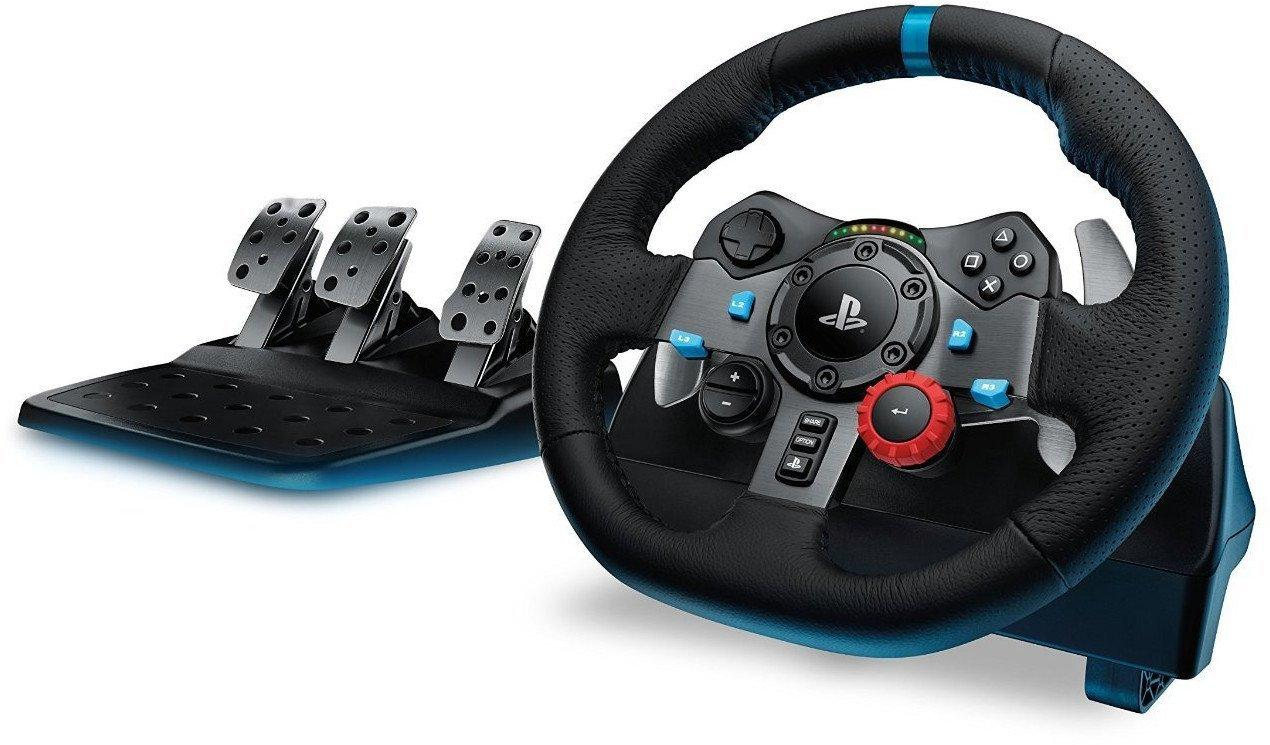 Волан Logitech Driving Force G29 PS3/PS4/PC, Черен