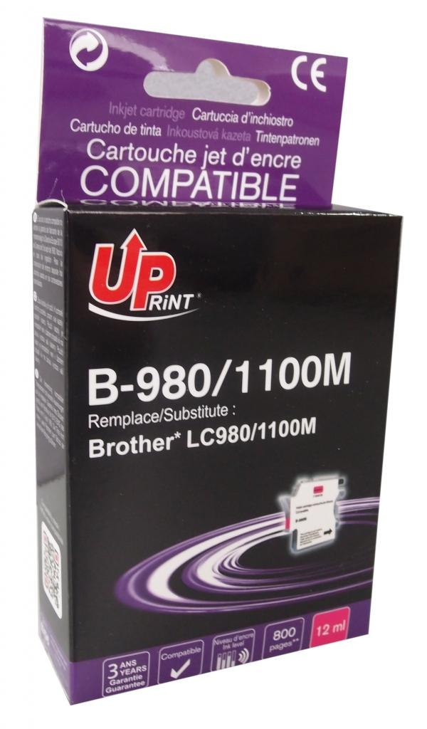 Мастилница UPRINT LC980/1100 BROTHER, Magenta