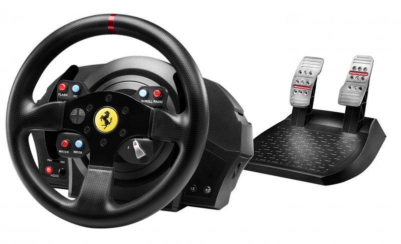 Волан THRUSTMASTER, Ferrari GTE T300GTE Force Feedback, за PC / PS3 / PS4