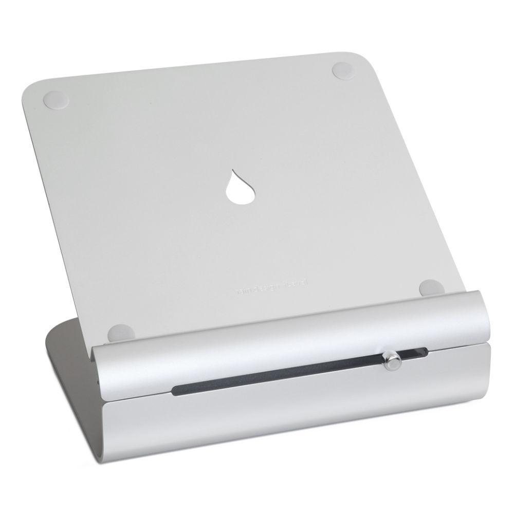 Поставка за лаптоп Rain Design iLevel 2 с възможност за регулиране на височина, Сребриста