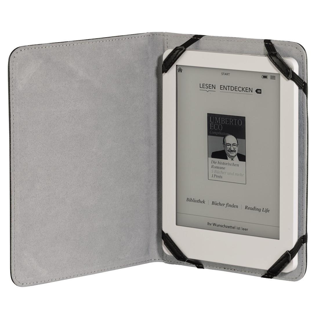 Калъф HAMA Piscine за eBook четец и таблет, 6 inch, Черен