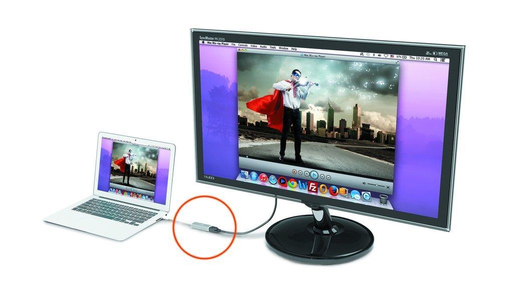 Адаптер j5create JUA355 Slim USB 3.0 към HDMI