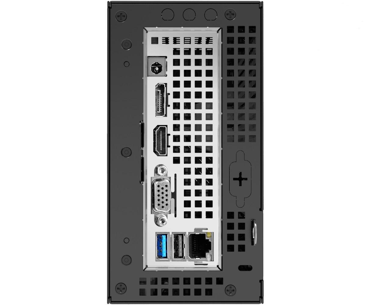 Компютърна система ASROCK Deskmini A300, AMD AM4, 2 x SO-DIMM DDR4 - Max. 32GB, M2_1 M.2 (2280)