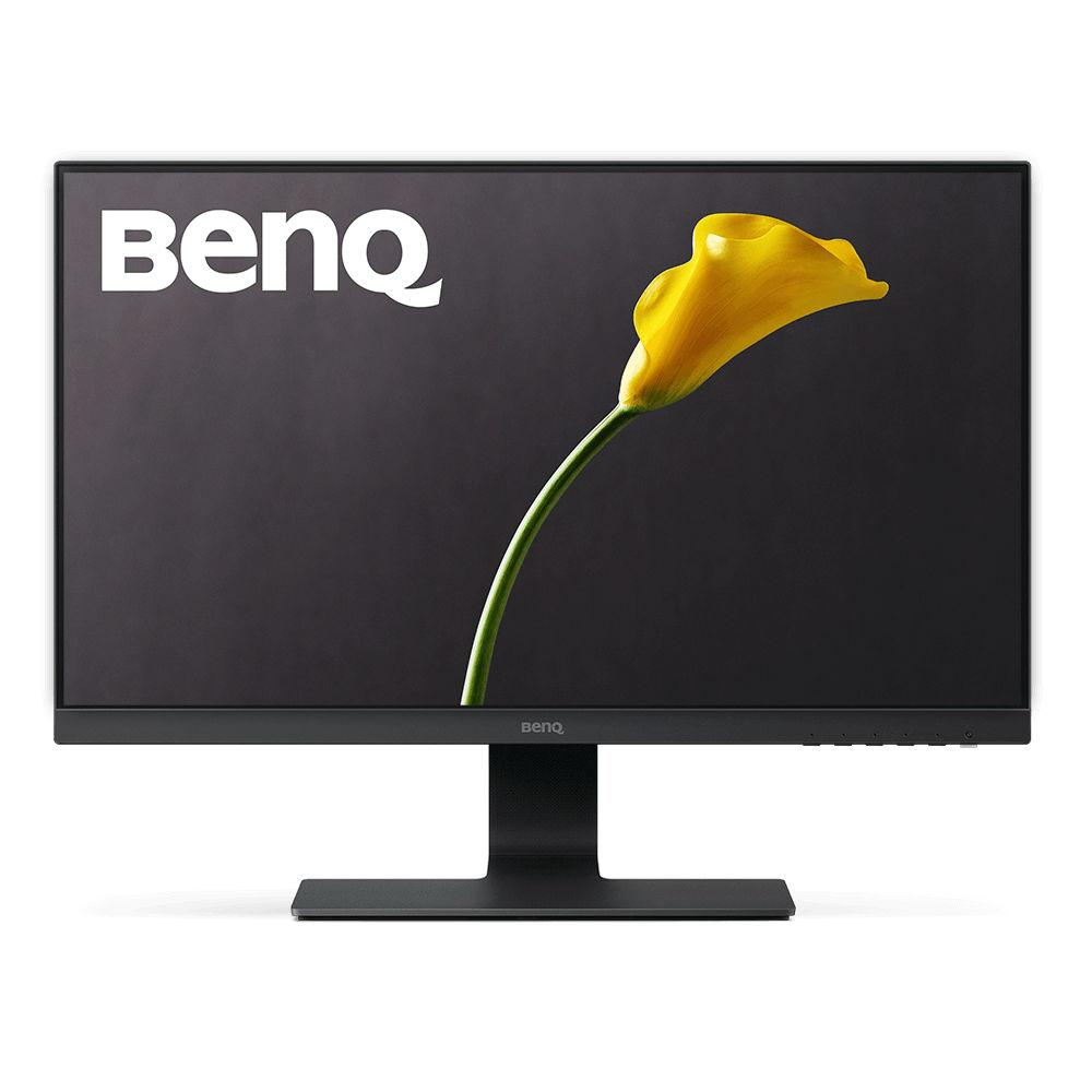 Монитор BenQ GL2580H, TN, 24.5 inch, Wide, Full HD, D-sub, DVI, HDMI, Черен, 5 год.гаранция