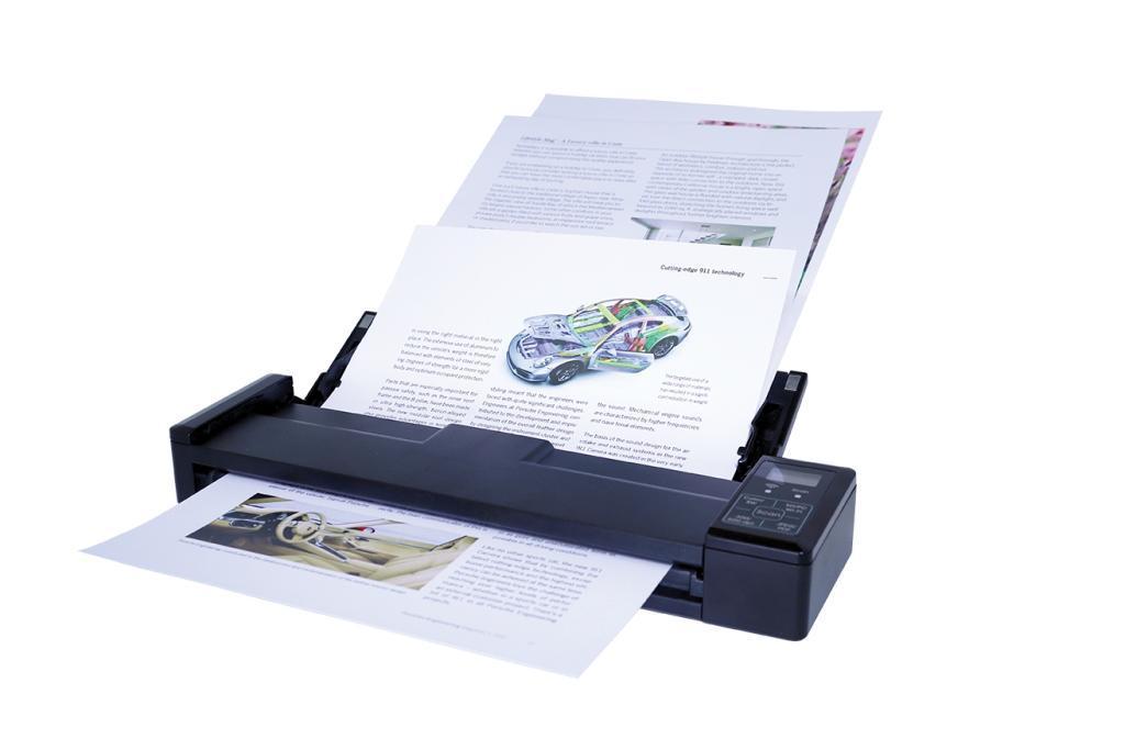 Скенер iris IRIScan Pro 3 Wi-Fi, A4, USB, ADF за 8 страници, Li-Ion батерия