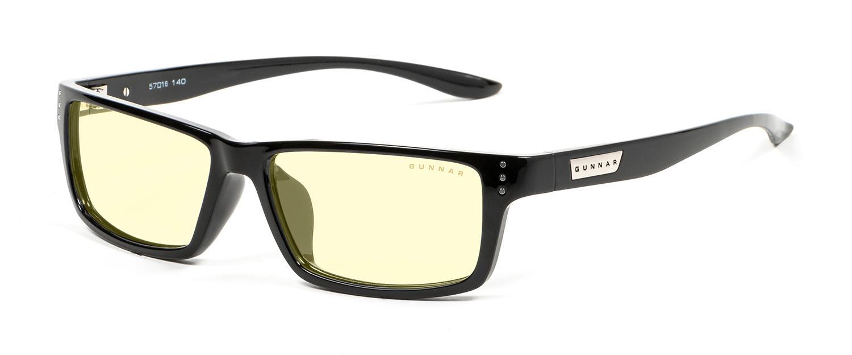 Геймърски очила GUNNAR Riot Onyx, Amber, Черен