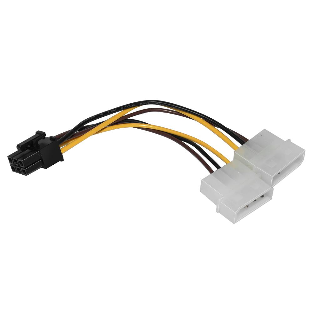 Кабел Spire 2 x Molex към 6-pin PCI-e VGA