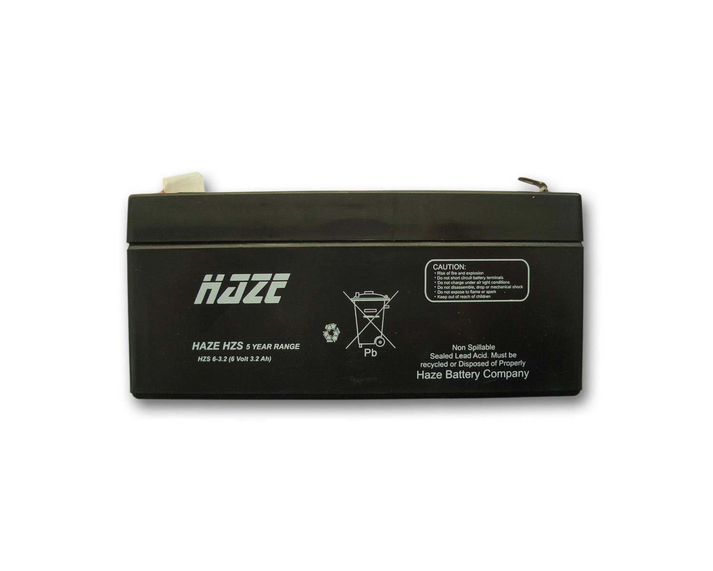 Оловна Батерия Haze ;HZS6-3.2; 6V / 3.2Ah- AGM