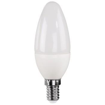 LED крушка XAVAX 112216, 230V, 4.5W, E14, C 37, 2700K, candle