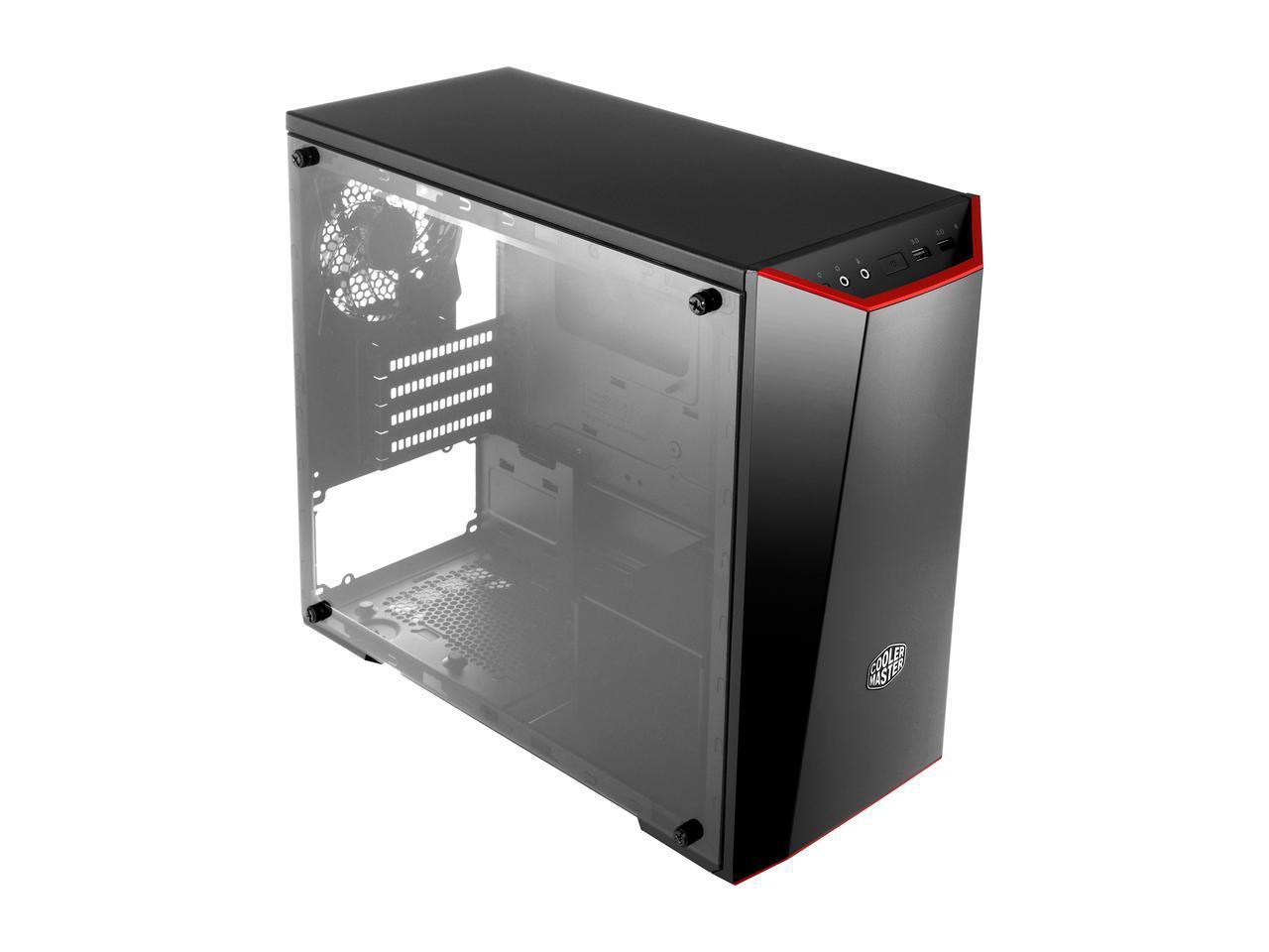 Кутия Cooler Master MasterBox Lite 3.1 MCW-L3B3-KANN-01, mATX, Черен