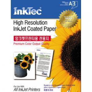 Хартия INTEC Coated Paper, 100sh, A3, 105 g/m2
