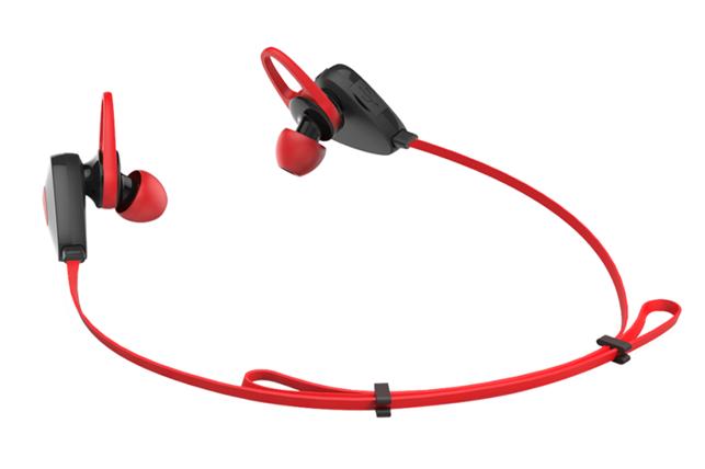 Слушалки MAXELL BTS500, Bluetooth, Червен