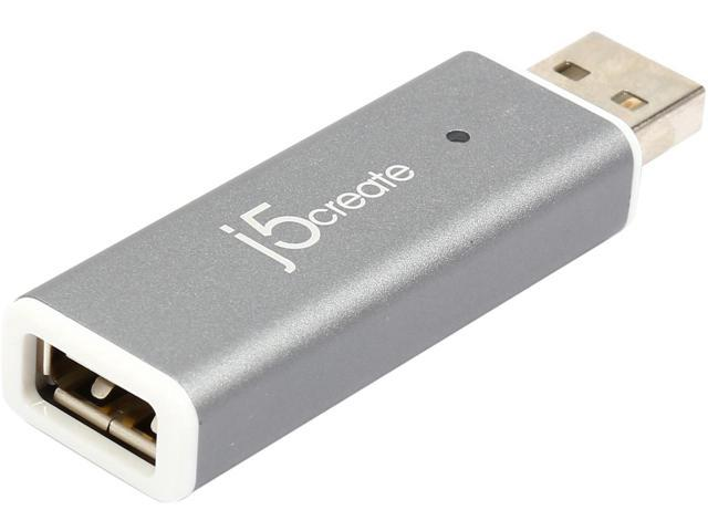 Адаптер j5create JUC610, Прехвърля дисплея на Android таблет върху монитор на компютър с Windows, USB 2.0