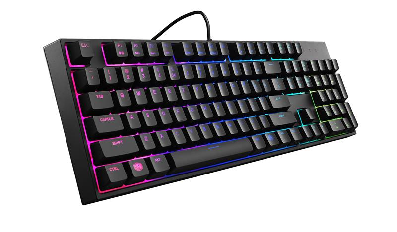 Геймърскa клавиатура Cooler Master, MasterKeys Lite L RGB